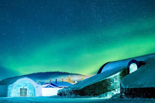 Farklı bir kış tatili arayanların en çok tercih ettiği dünyanın en iyi buzdan otelleri!