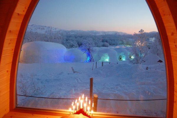 Norveç Kirkenes Snow Hotel buzdan otellerin en iyilerinden