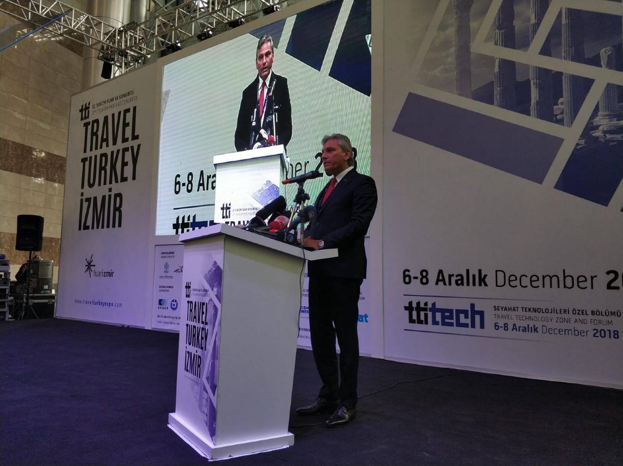 12. Travel Turkey İzmir Turizm Fuarı ve Kongresi başladı!