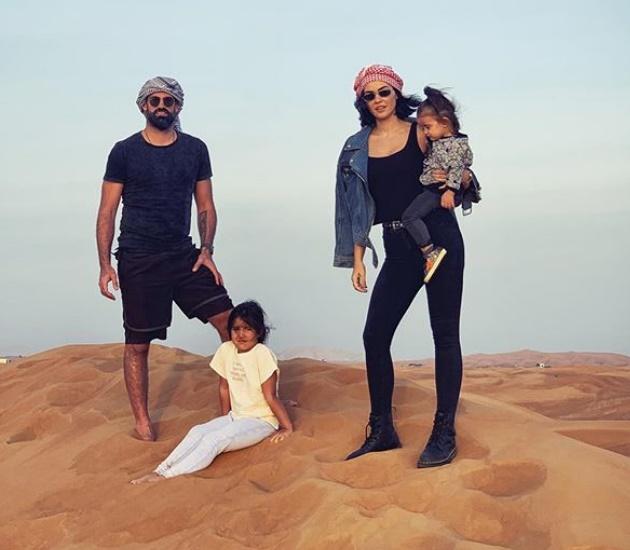Volkan Demirel ailesiyle Dubai'de tatil yaptı!