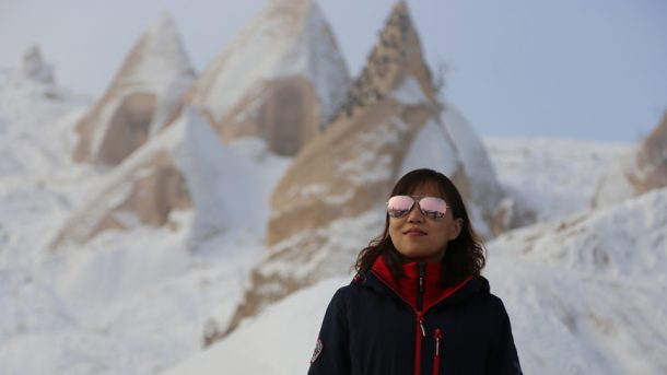 Kapadokya yılbaşında turistleri ağırladı