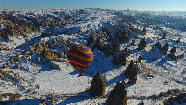Tarih ve kültürün harmanlandığı yer: Kapadokya