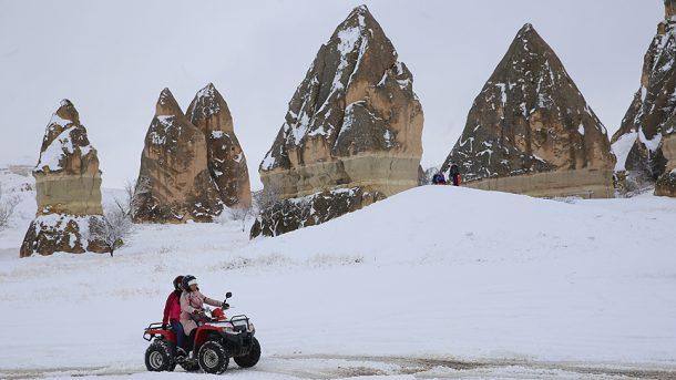 Kış tatilinin en güzel üçlüsü: Kapadokya, Erciyes ve Kozaklı!