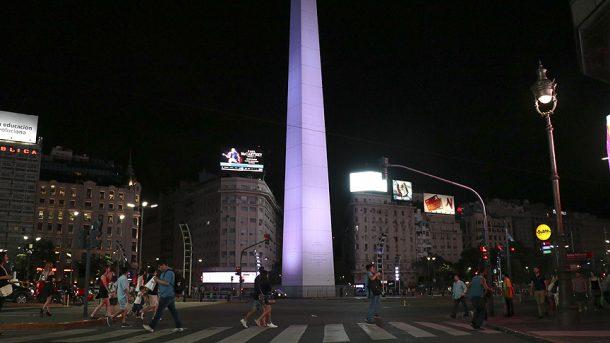 Obelisco'nun yapımı bir ay sürdü