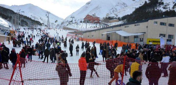 Palandöken Kayak Merkezi kış turizminin göz bebeği!