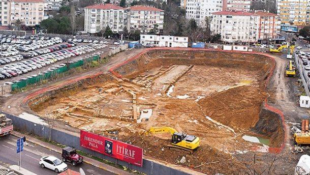 Tarih fışkıran otel inşaatı rafa mı kalkacak?