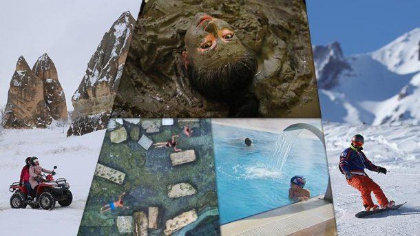 Türkiye'nin gözde kış turizm merkezleri konuklarını bekliyor!