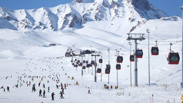 Erciyes'te kayak, Kozaklı'da termal keyfi