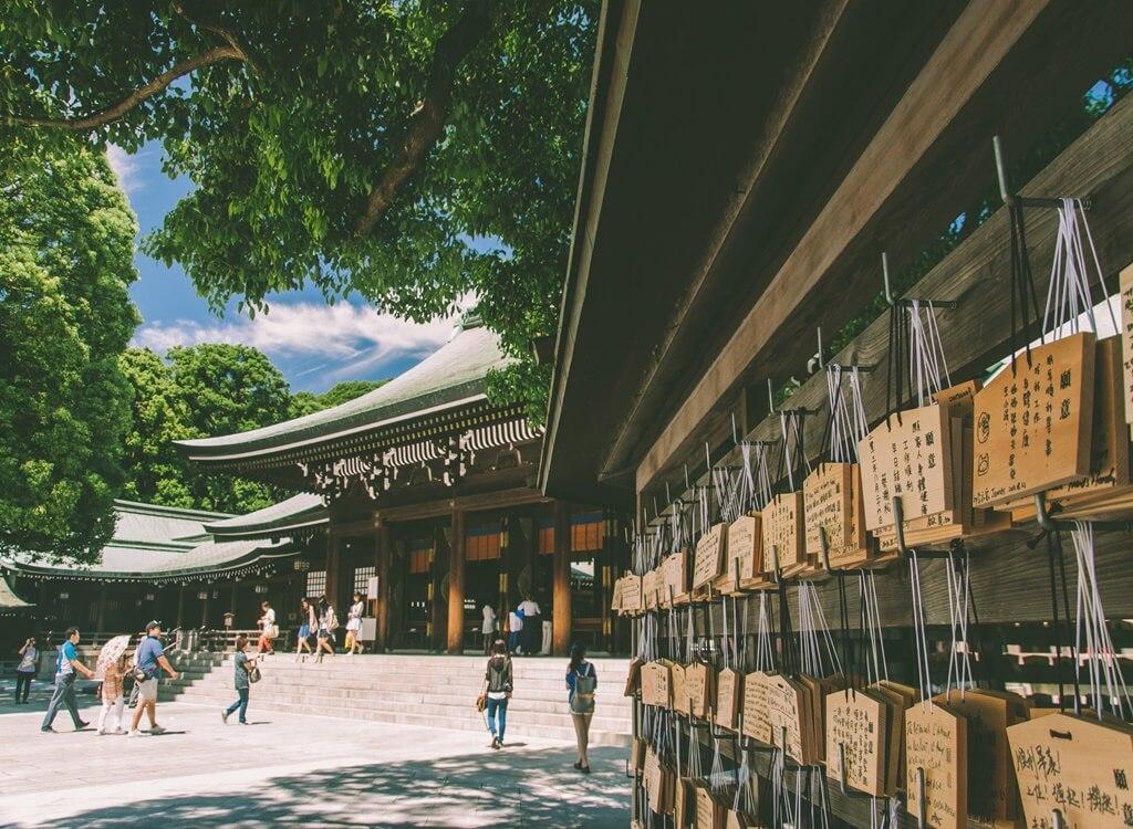 Japonya Meiji Tapınağı