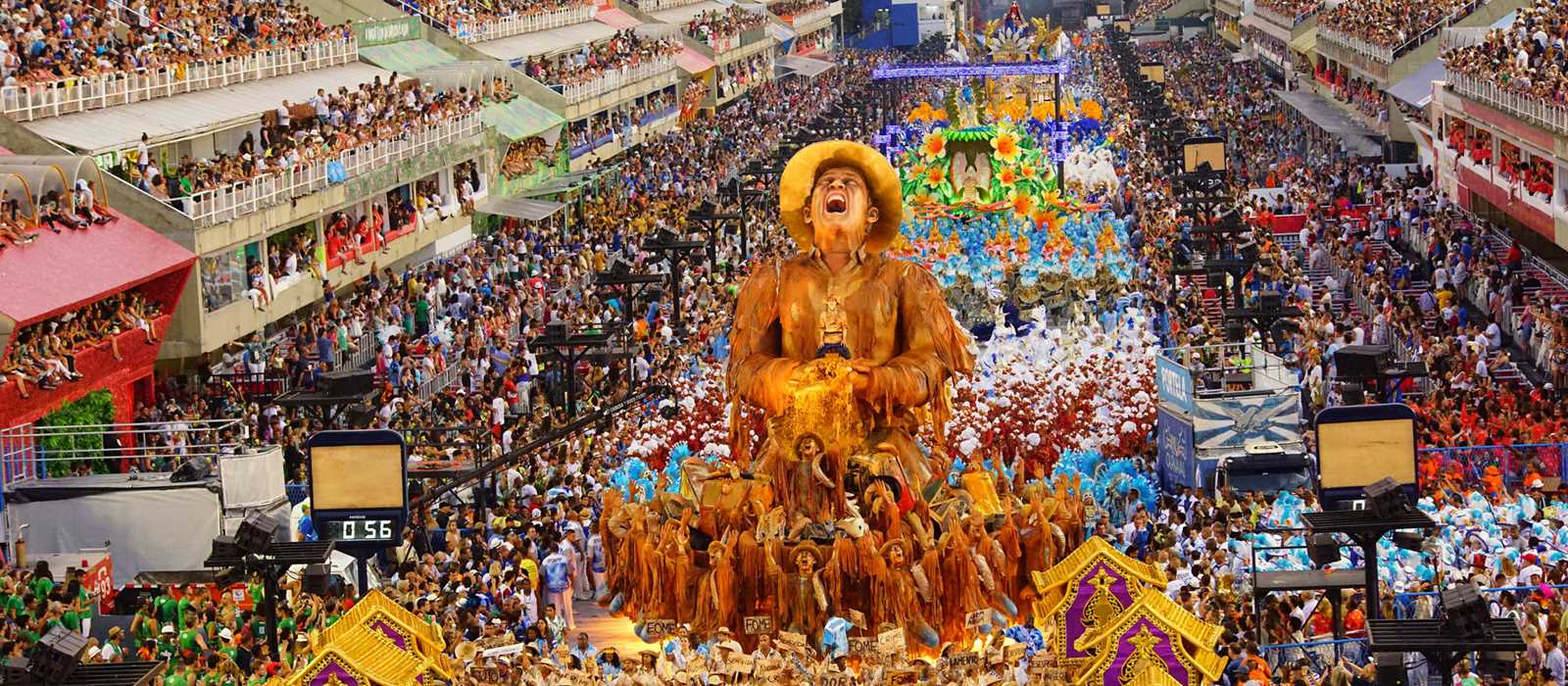 Rio Karnavalı'nda Samba Okulları yarışacak