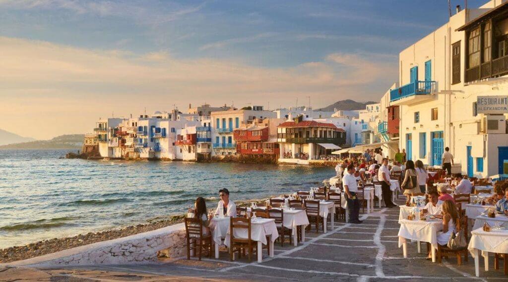 Küçük Venedik Mykonos Adası