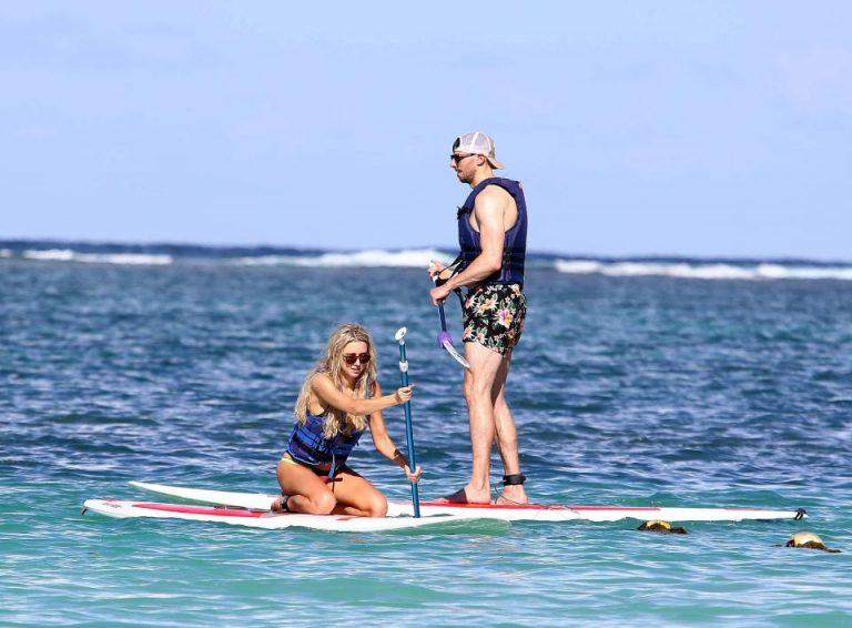 Una Healy & David Breen Mauritius Island