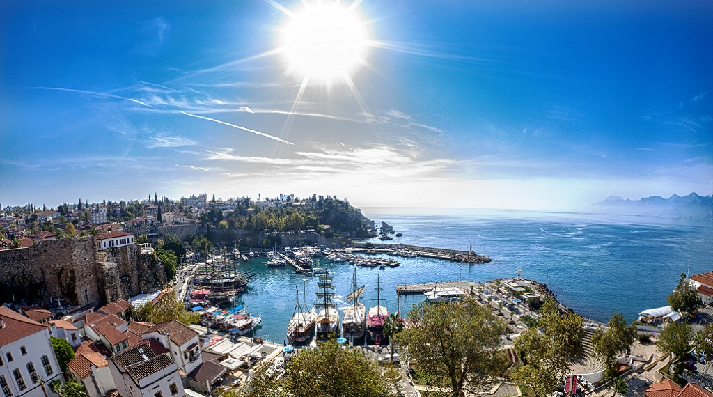 Antalya ocak ayında rekor kırdı