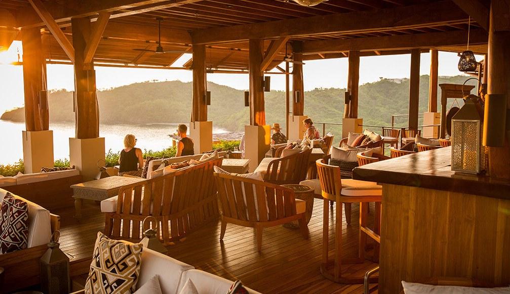 Kosta Rika'daki Sentido Norte'nin muhteşem manzarası