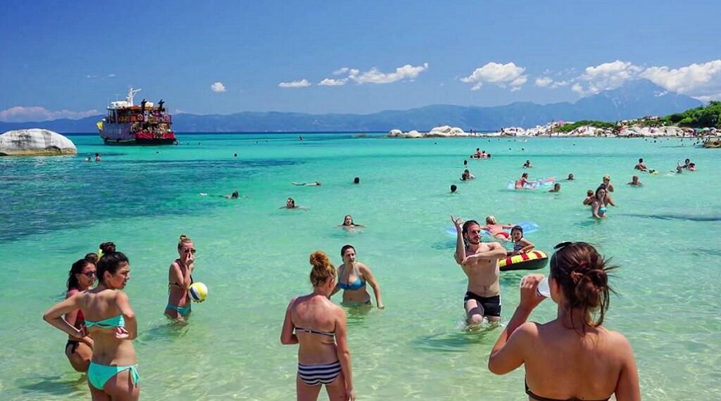 Halkidiki plajlarının keyfine varın...
