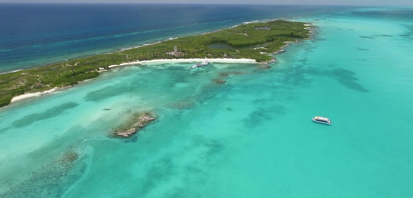 Sadece 790 dönüm araziye sahip Isla Contoy