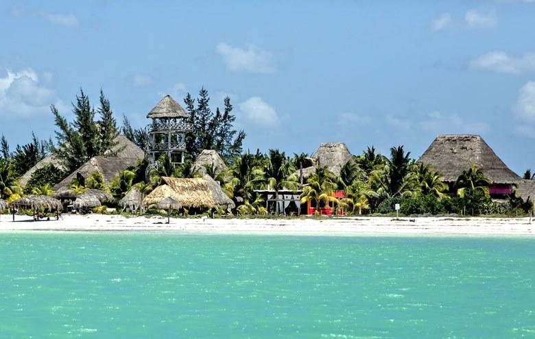 Bozulmamış Meksika Adalarından biri daha: Isla Holbox