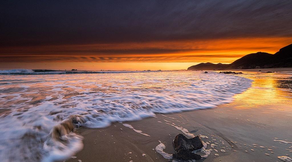 Muhteşem bir plaj: Playa de Trengandín