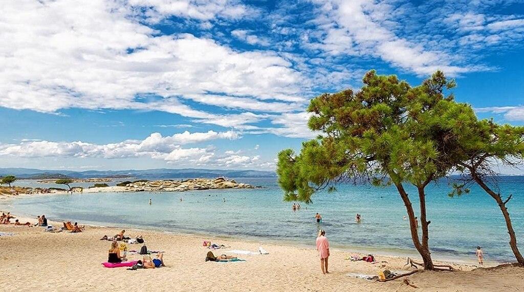 Yunan Adası Halkidiki Plajları