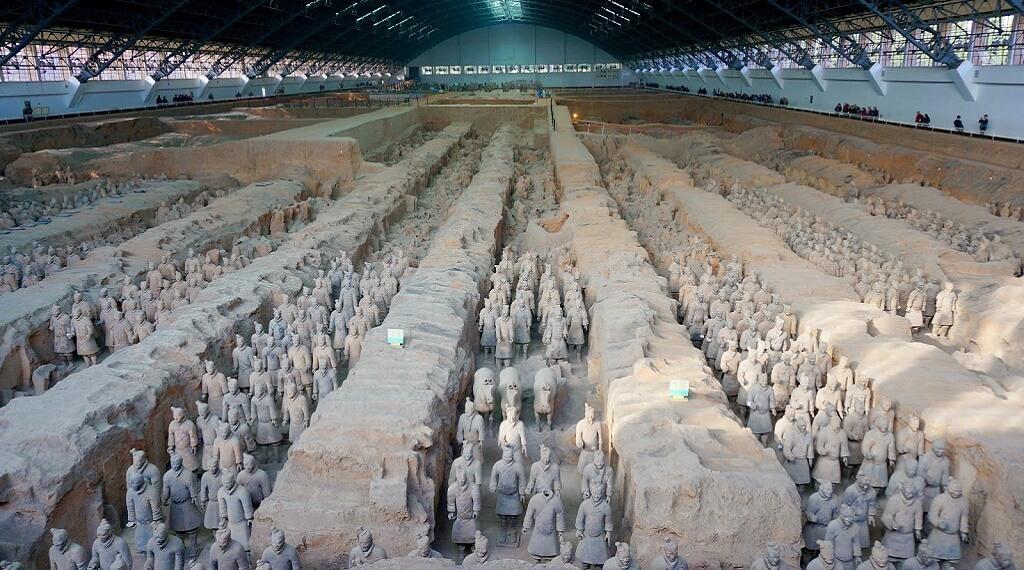 Çin'de en çok ziyaret edilen yerler arasında Terracotta Ordusu geliyor