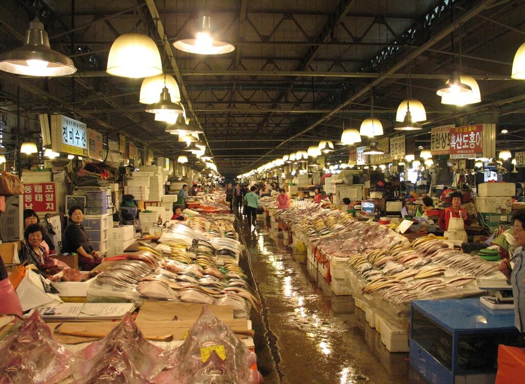 Noryangji Balık Pazarı