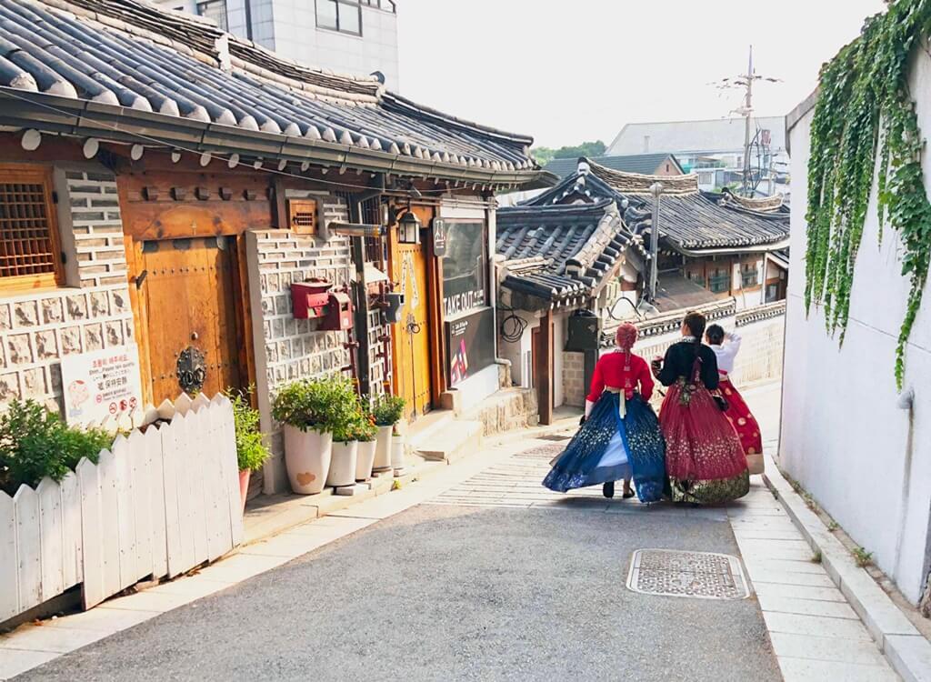 Bukchon Geleneksel Kore Köyü