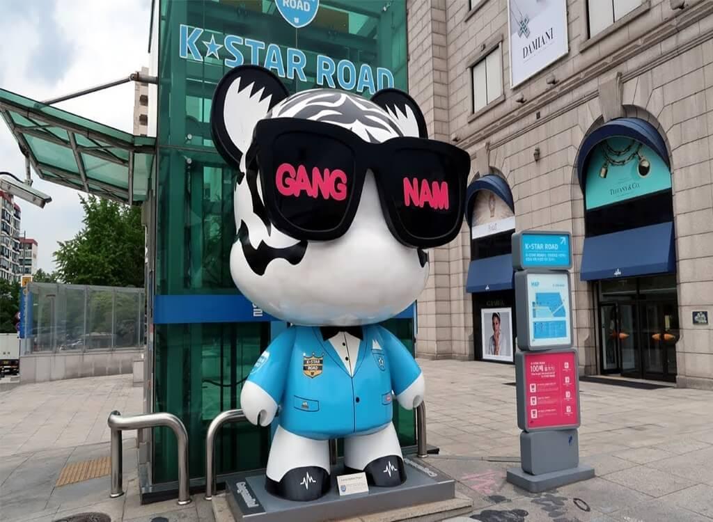 Gangnam Yıldızlar Caddesi