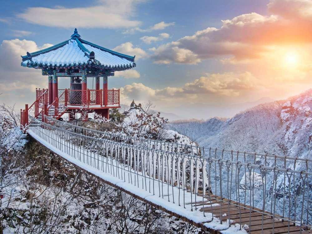 Güney Kore'de Kış
