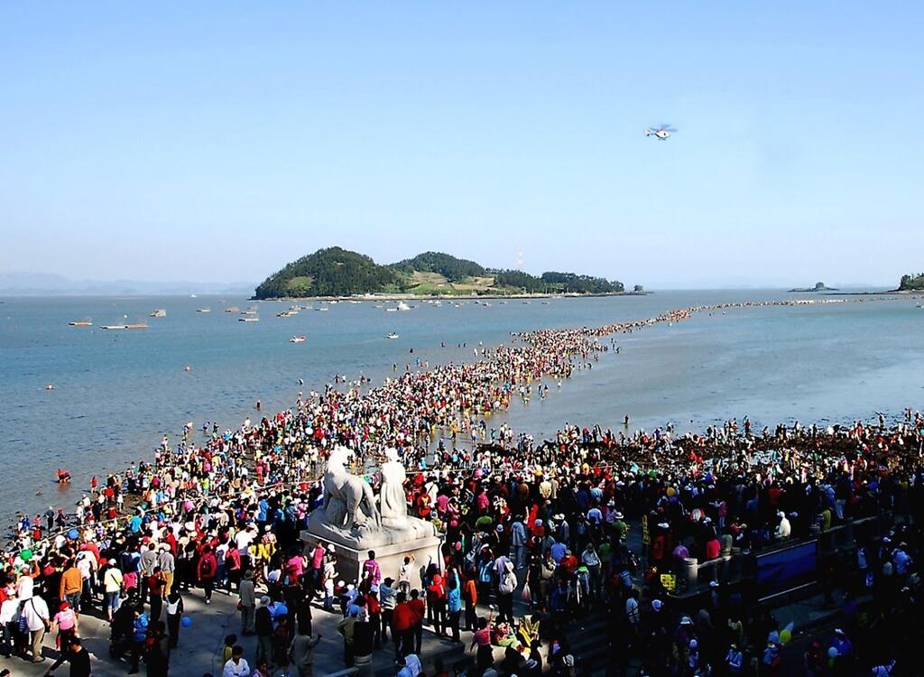 Jindo Deniz Yolu Festivali