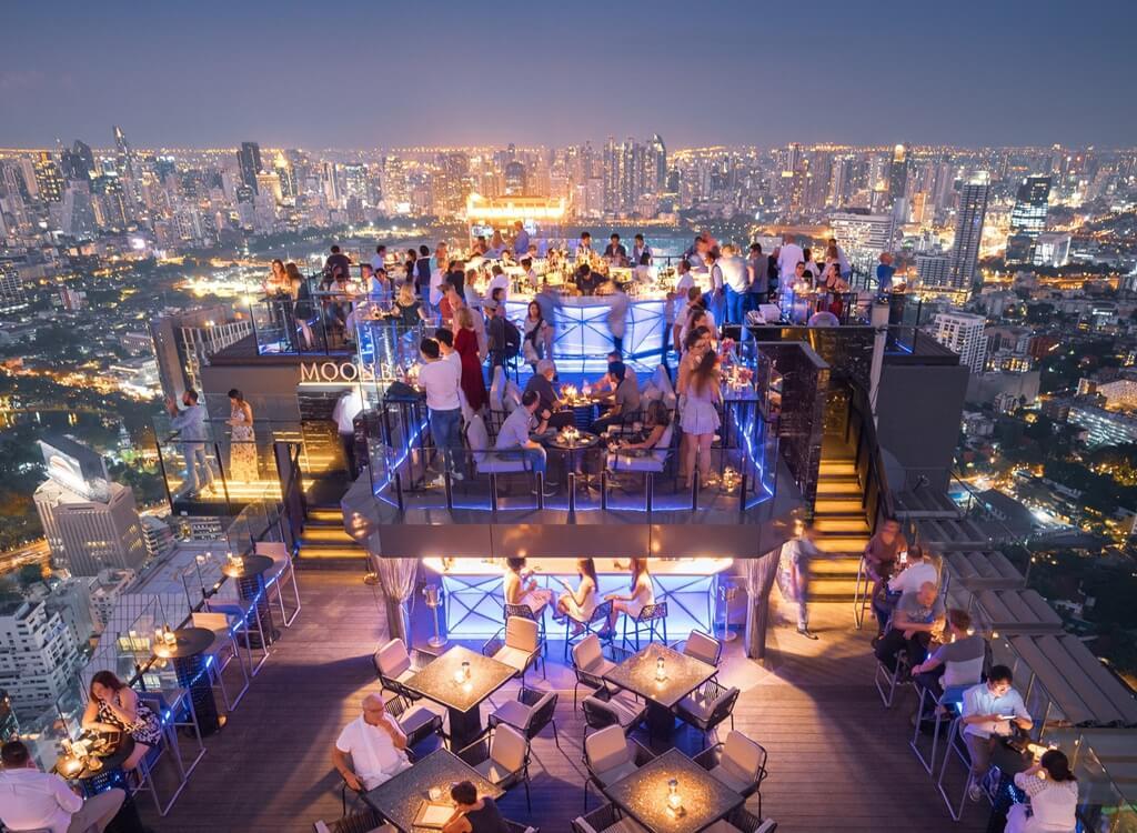Silom, lüks gece hayatının merkezi