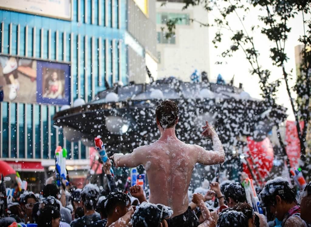 Sinchon Su Tabancası Festivali