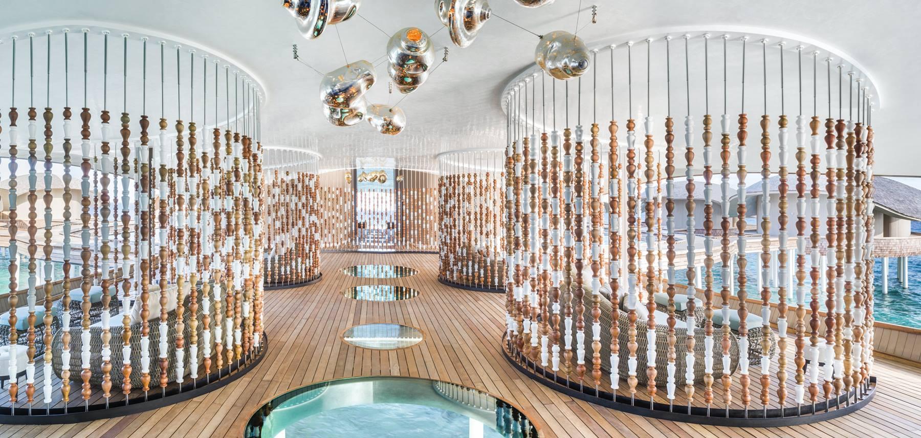 Otelin muhteşem spa merkezi
