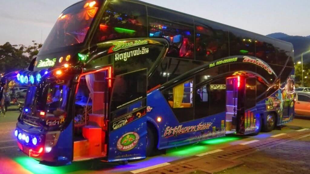 Bangkok Phuket VIP Otobüslerinden Biri