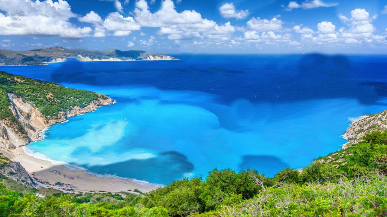 Kefalonya Gezilecek Yerler: Myrtos Plajı