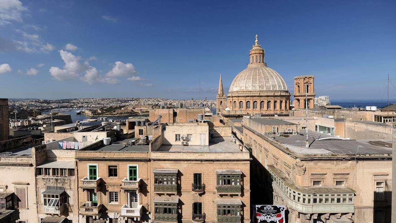 Malta Lüks Oteller: De Vilhena Boutique Hotel Manzarası
