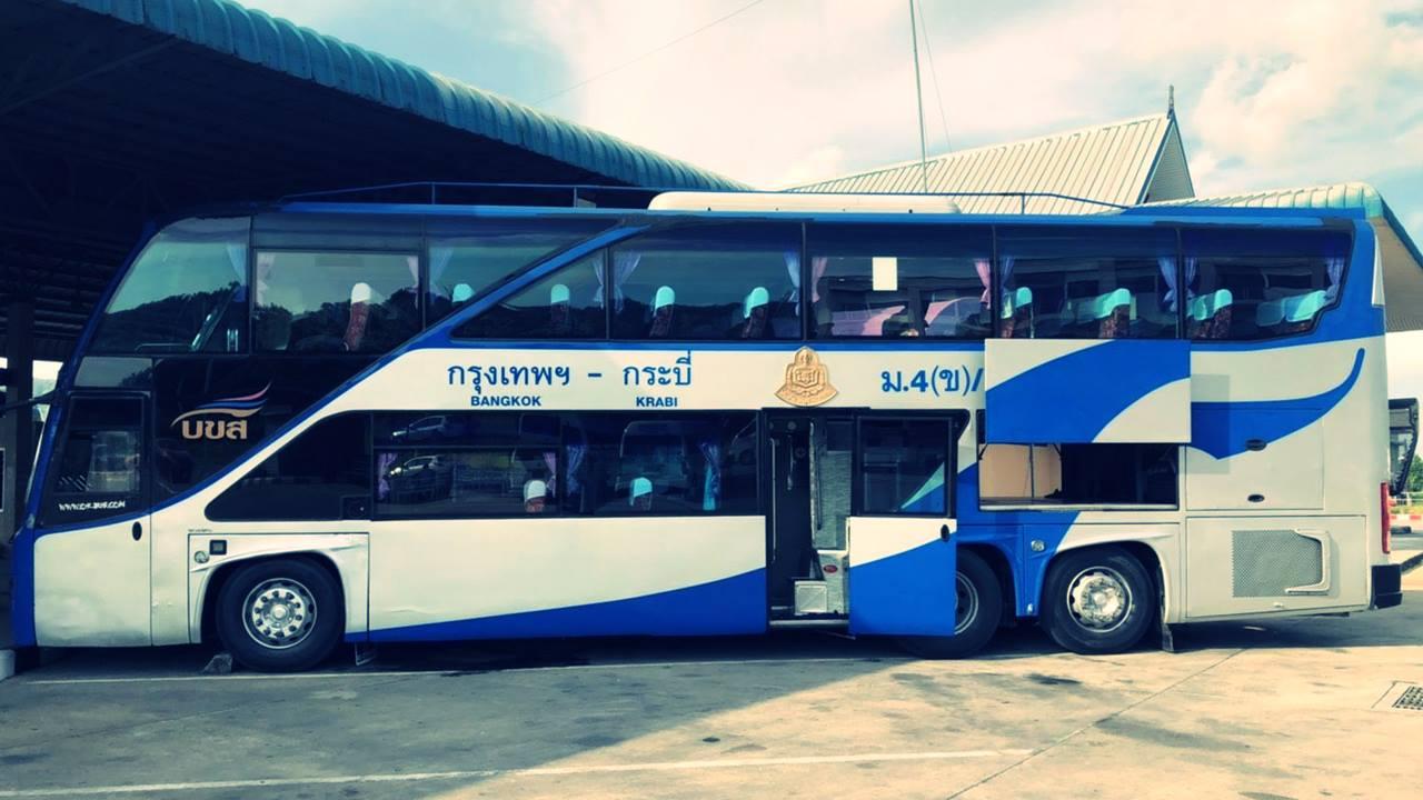 Bangkok Krabi Otobüs Yolculuğu