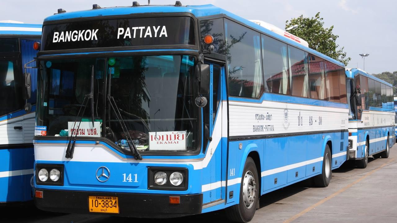 Bangkok Pattaya Otobüs Yolculuğu