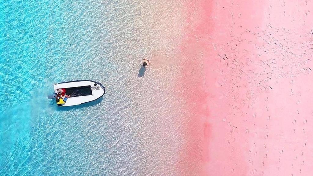 Endonezya Plajları: Komodo Pembe Plaj