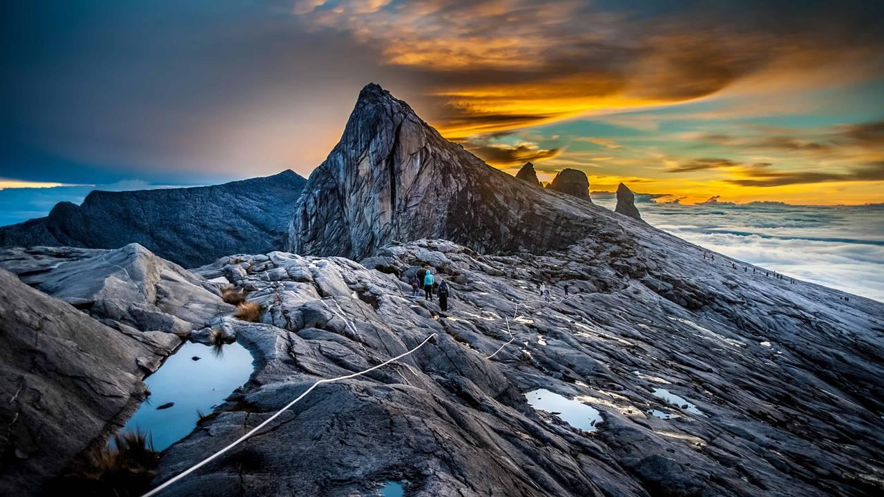 Malezya Gezilecek Yerler: Kinabalu Dağı