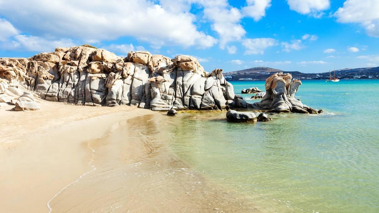 Kolimbithres Plajı