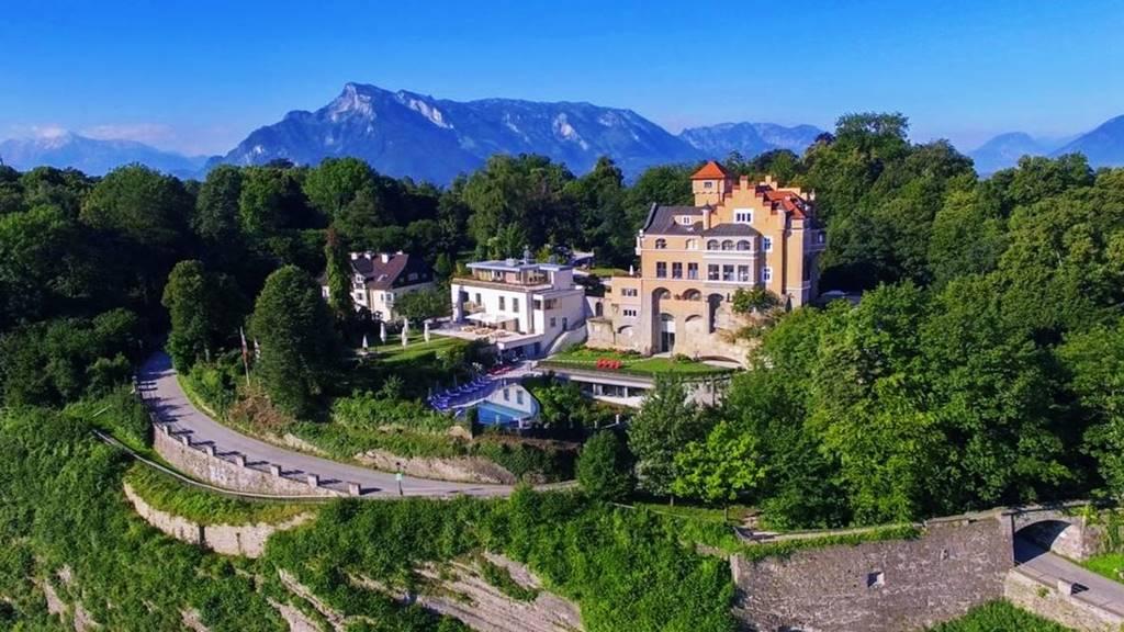Salzburg'da Nerede Kalınır? Hotel Schloss Monchstein