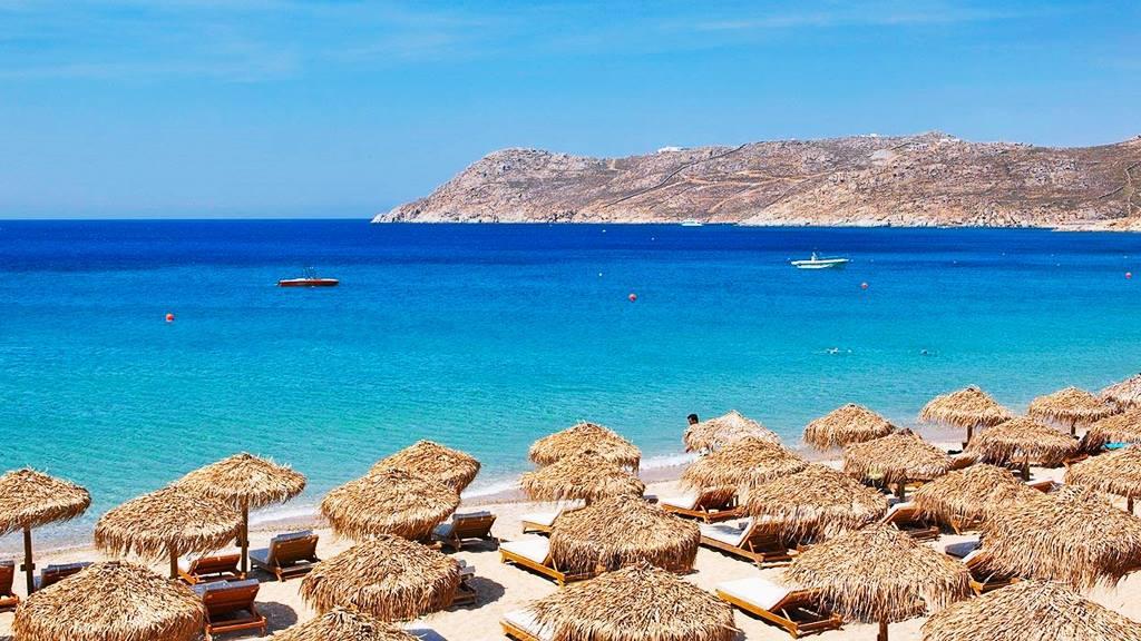 En Güzel Mykonos Plajları: Elia Beach