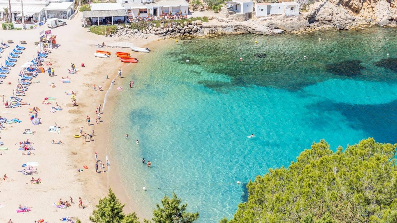 İbiza Plajları: San Miguel