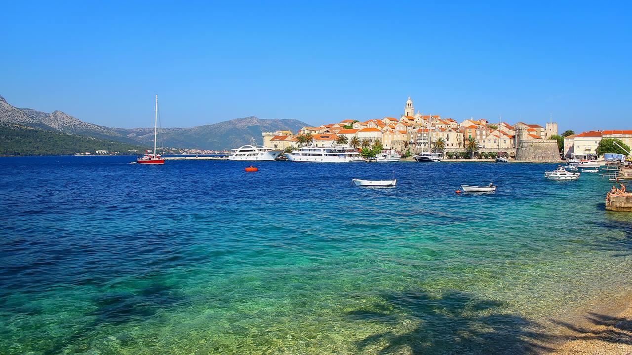 Korcula Adası - Hırvatistan
