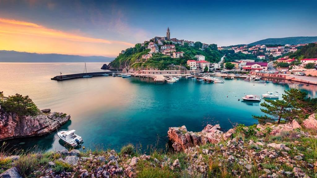 Krk Adası Hırvatistan