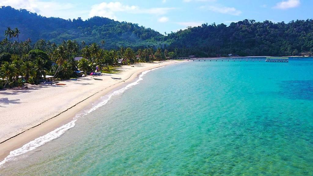 Malezya Plajları: Juara