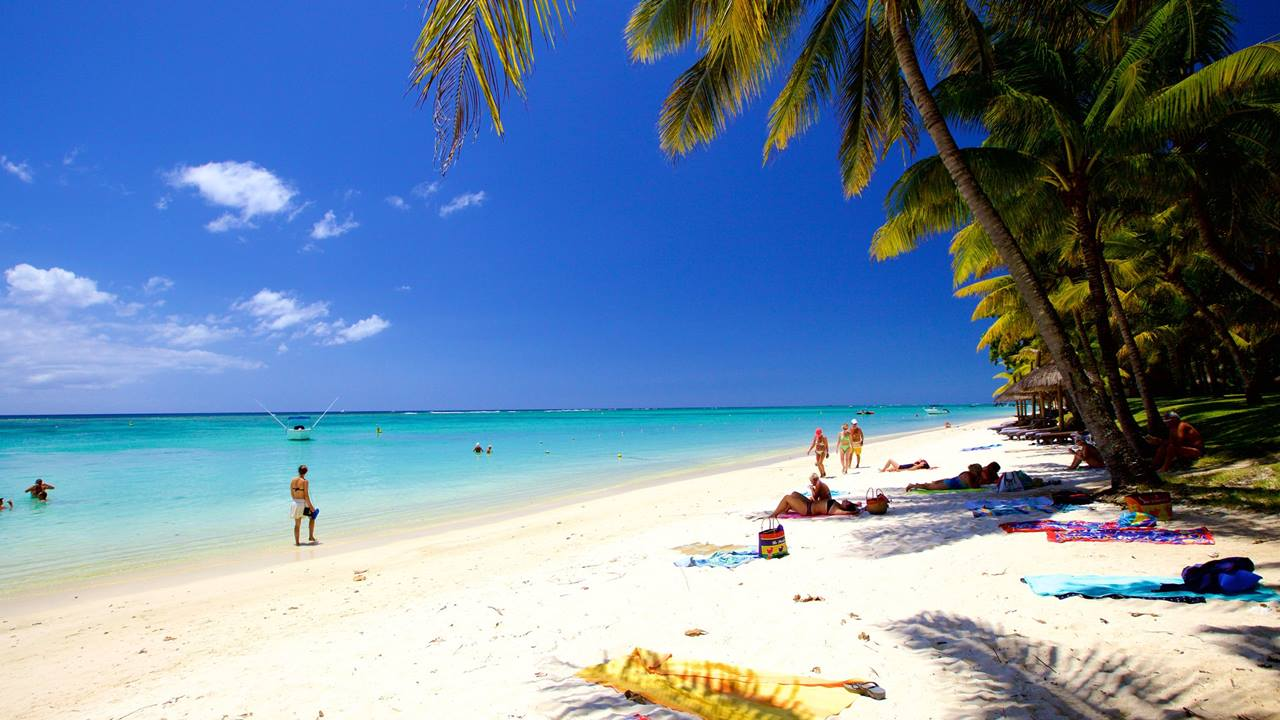 Mauritius Plajları: Trou Aux Biches