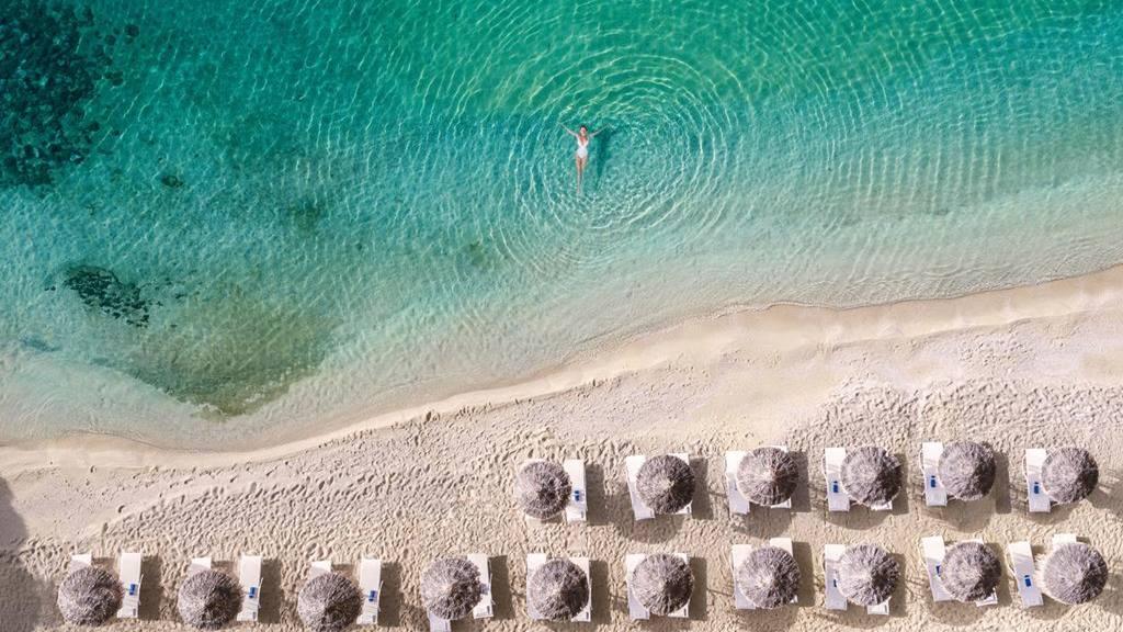Mykonos Plajları: Psarou