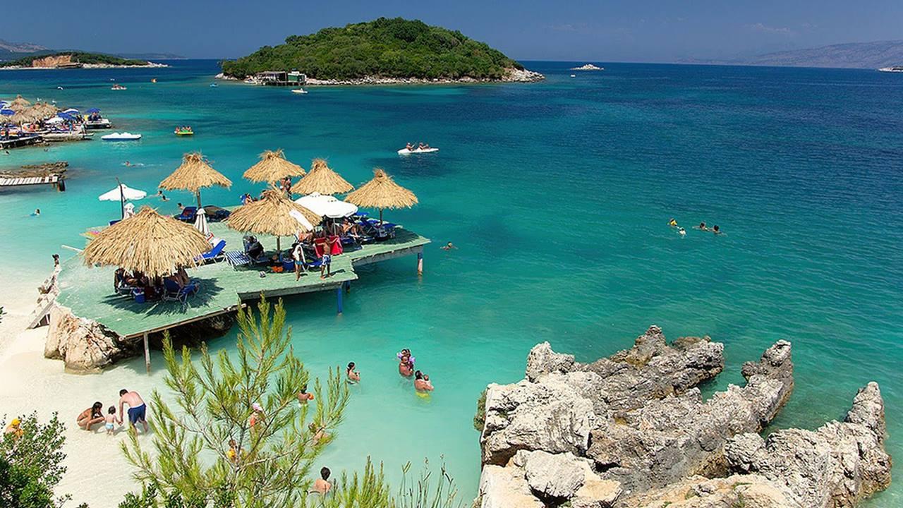 Sarande Plajları - Arnavutluk
