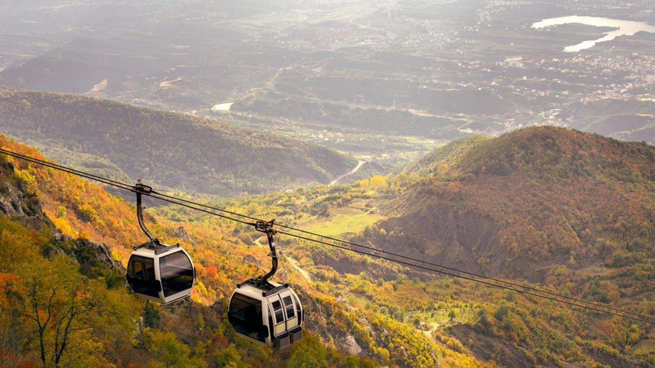 Tiran Gezilecek Yerler: Dajti Dağı